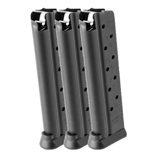 9mm 1911 Magazine, 10 Round 3 Pack