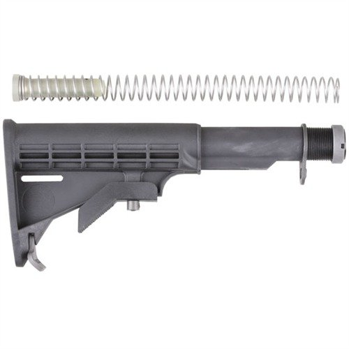 AR-15 Stock Assy Collapsible Commercial BLK