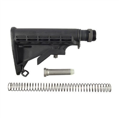 AR-15 Stock Assy Collapsible Mil-Spec BLK
