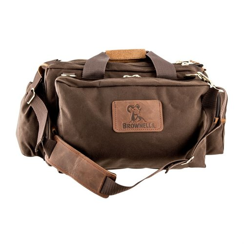 Signature Series Shooting Bag, Dark Brown