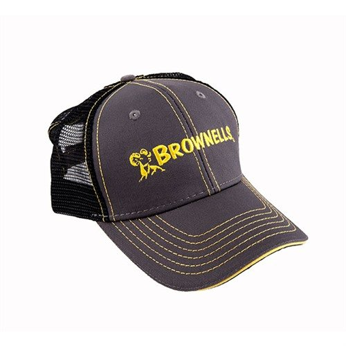 Brownells Charcoal/Yellow Cap