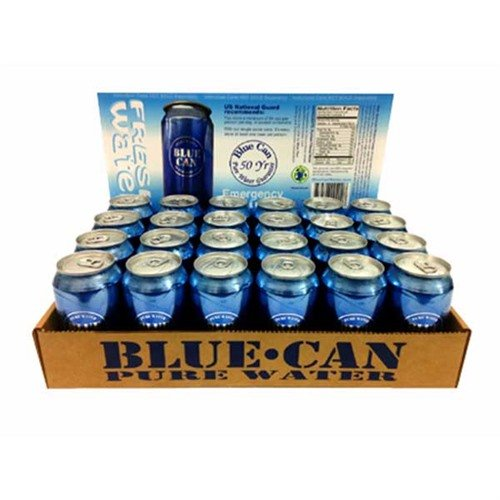 Blue Water Can-24 Pack