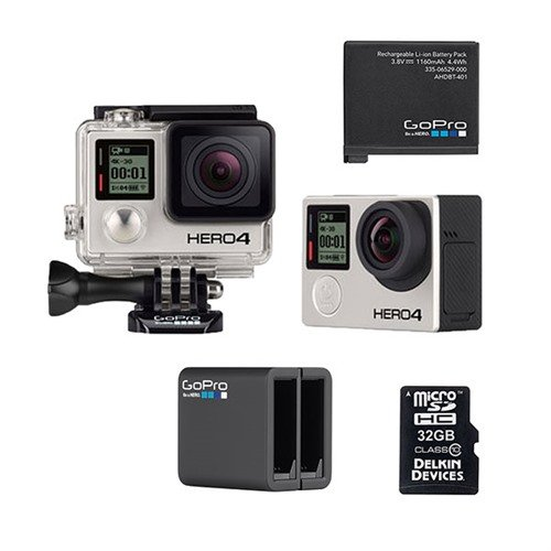 GoPro HERO4 Black Battery Bundle