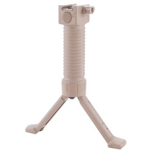 "LE Model Grip Pod Picatinny Mount 6.25-8.5"" Tan"