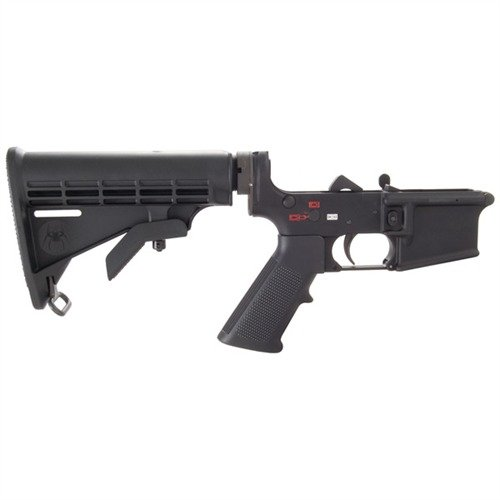 Complete AR-15 Lower Receiver w/Buttstock