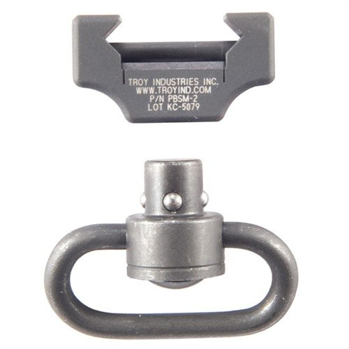 Pushbutton Swivel Rail Mount
