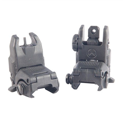 AR-15 Flip-Up MBUS Gen 2 Sight Set Black