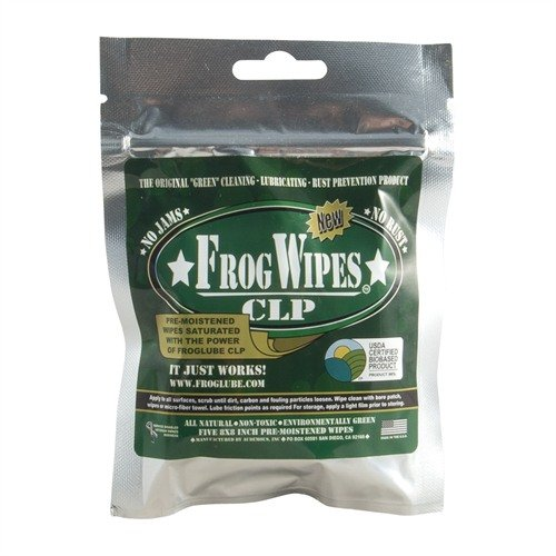 FrogLube Paste Wipes, 5-pack