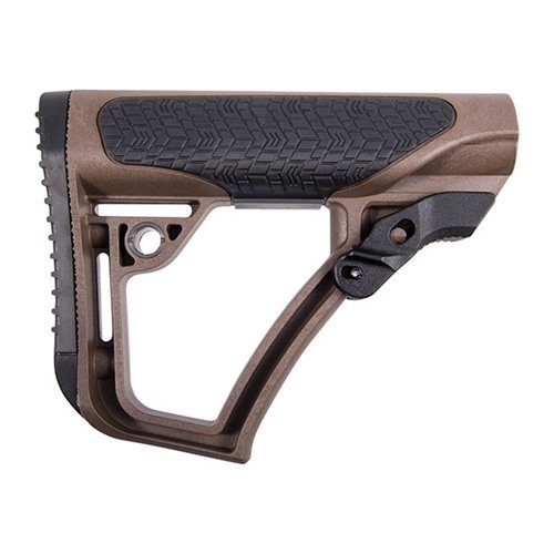 AR-15 Stock Collapsible Mil-Spec Brown