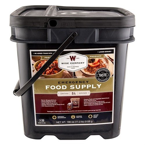 84 Serving Breakfast & Entree Grab and Go Bucket
