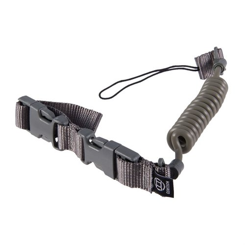 Tactical Retention Lanyard Pistol Leash-Foliage Green