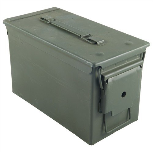 50 Caliber Ammo Can Steel Green