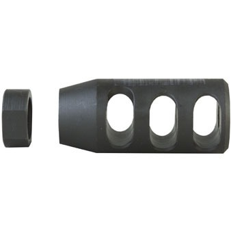 Compensator 22 Caliber 1/2-28 Steel Black