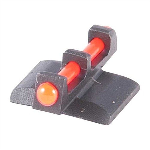 "Fiber Optic Front Sight, Red, .150"" high, fits Kimber 1911"