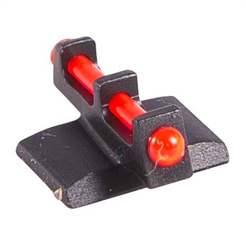 "Fiber Optic Front Sight, Red, .175"" high, fits Kimber 1911"
