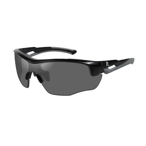 943cd6de6497 Remington Youth Glasses-Black Grey Frame-Smoke Lens