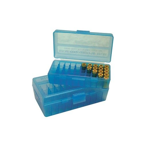 Ammo Box pIstol Blue 38-357 50