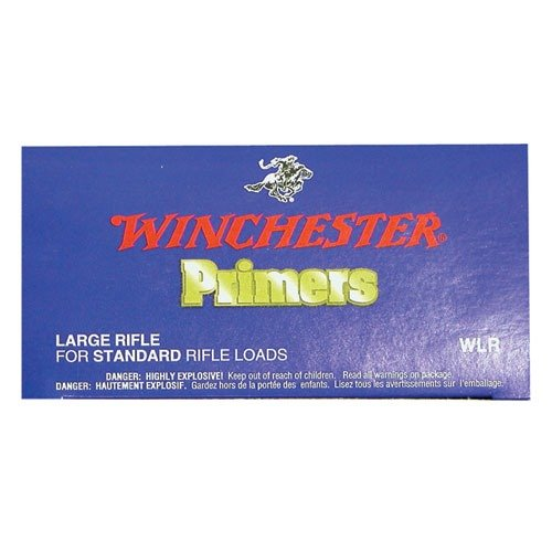 Winchester Large Rifle Primers - 1000
