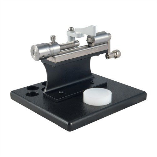 Stainless Case Trimmer Kit w/Micrometer & Platform