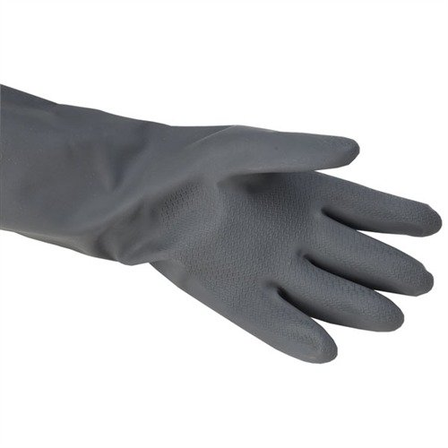 Size 10, 22ML Black Neoprene Gloves, Pair